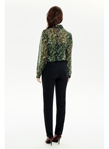 NaraMaxx Dikişli Klasik  Pantolon  Yeşil